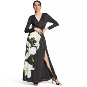 NWT Altuzarra Target Orchid Floral Maxi Dress
